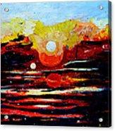Manas Sarovr Lake-11 Acrylic Print