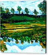 Manas Sarovr Lake-13 Acrylic Print