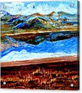 Manas Sarovr Lake-14 Acrylic Print