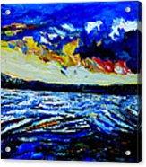 Manas Sarovr Lake-15 Acrylic Print