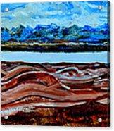Manas Sarovr Lake-19 Acrylic Print