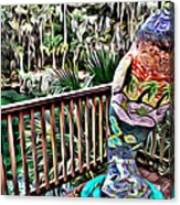 Manatee Color Acrylic Print