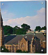 Manayunk - Saint John The Baptist Church Acrylic Print