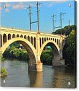 Manayunk Stone Arch Bridge Acrylic Print