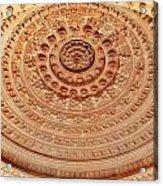 Mandala - Jain Temple Ceiling - Amarkantak India Acrylic Print