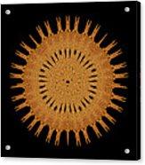 Sand Mandala Acrylic Print