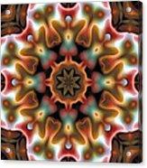 Mandala 95 Acrylic Print