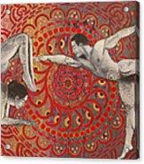 Mandala Dance Acrylic Print