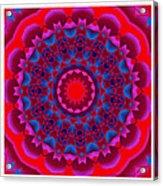 Mandala Dawn Acrylic Print