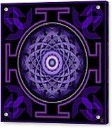 Mandala Hypurplectic Acrylic Print