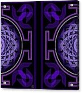 Mandala Hypurplectic - Stereogram Acrylic Print