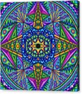 Mandala Madness Acrylic Print