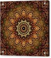 Mandala Of Bones Acrylic Print