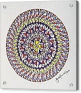 Mandala V Acrylic Print