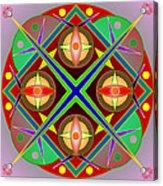 Mandala0504 Acrylic Print