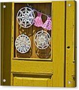 Mandalas Door Acrylic Print