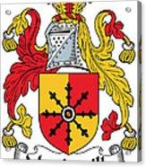 Mandeville Coat Of Arms Irish Acrylic Print