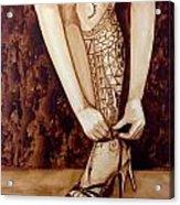 Mandirigma In Stilettos Acrylic Print