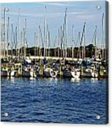 Mandarin Park Boats On Julington Creek Acrylic Print