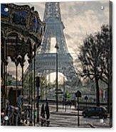 Manege Parisienne Acrylic Print