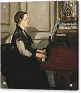 Manet, �douard 1832-1883. Madame Manet Acrylic Print