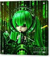 Manga Matrix Acrylic Print