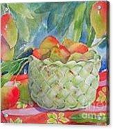 Mango Harvest Acrylic Print by Kathleen Rutten