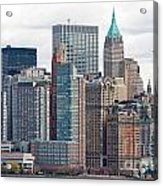 Manhattan - New York City Acrylic Print