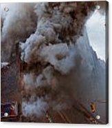 Manhattan 6th Alarm Fire Acrylic Print