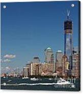 Manhattan Battery Park Skyline Acrylic Print