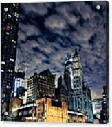 Manhattan Bound Version A Acrylic Print