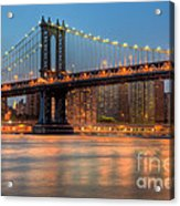 Manhattan Bridge I Acrylic Print