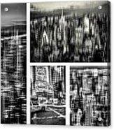 Manhattan Collection II Acrylic Print
