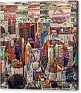 Manhattan Sunrise Acrylic Print