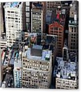 Manhattan From Above Acrylic Print