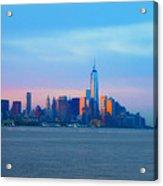 Manhattan In The Morning Acrylic Print