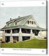 Manhattan Kansas - Manhattan Country Club - 1920 Acrylic Print