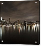 Manhattan Night View 2 Acrylic Print