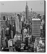 Manhattan Nyc Acrylic Print