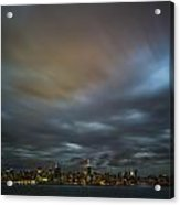 Manhattan On The Horizon Acrylic Print