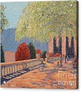 Manhattan Park Acrylic Print