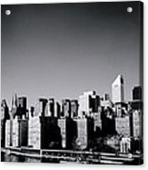 Manhattan Acrylic Print by Shaun Higson