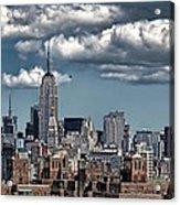 Manhattan-skyline Acrylic Print
