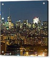 Manhattan Skyline, New York City, New Acrylic Print