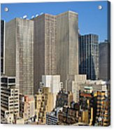 Manhattan Urban Jungle Acrylic Print