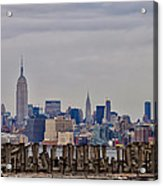 Manhattan View Acrylic Print