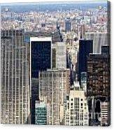 Manhattan View Uptown Acrylic Print