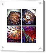 Manholes_06.02.12 Acrylic Print
