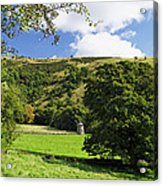 Manifold Valley And Dovecote - Swainsley Acrylic Print