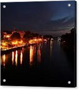 Manistee River Channel Acrylic Print
